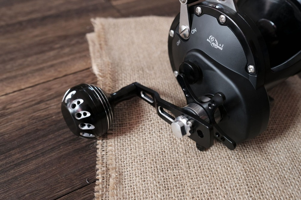 Image 4 - WOEN V7corrosion resistant aluminum alloy Drum wheel Sea fishing Iron plate wheel 6BB+1RB Fishing reel Speed ratio: 4.1:1-in Fishing Reels from Sports & Entertainment