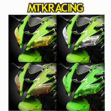 MTKRACING FOR KAWASAKI ZX-10R ZX10R ZX 10 R 10R 2016 2017 motorcycle Headlight Protector Cover Shield Screen Lens