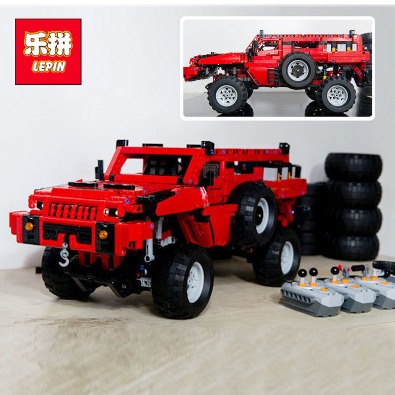 Lepin 23007 2278Pcs Genuine Technic MOC Series The Marauder Set Children Educational Building Blocks Bricks Toys Model Gift new lepin 23012 2839pcs genuine technic series the arakawa moc tow truck tatra 813 educational building blocks bricks toys gift