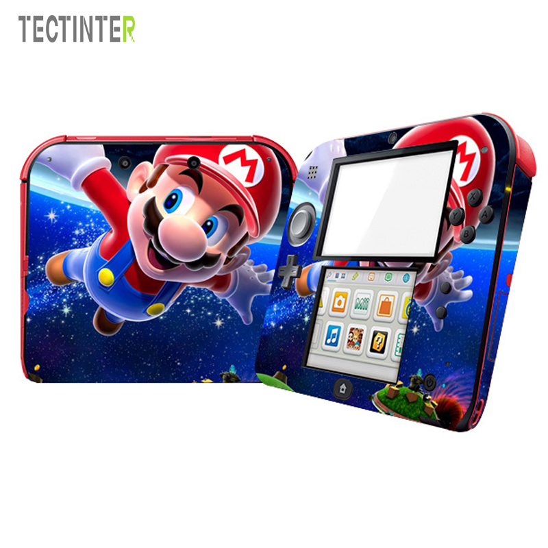 Decal Skin-Sticker Nintend-Accessory 2DS Mario-Protector Vinyl 2ds-Cover