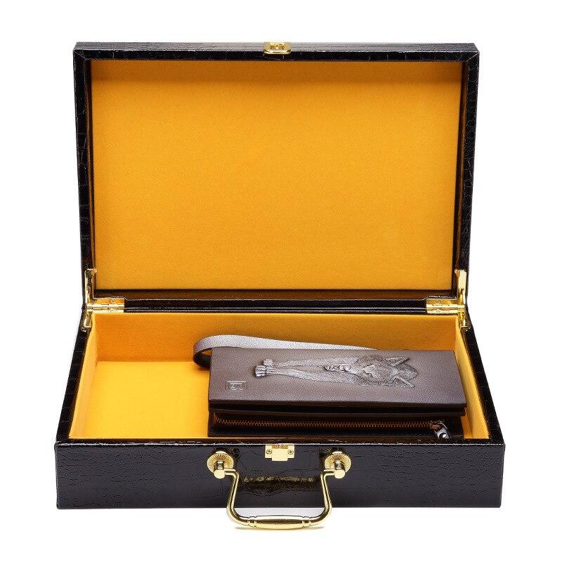 2 pcs/lot haute qualité motif Crocodile boîtes à bijoux en cuir synthétique polyuréthane bijoux cadeau boîte 31 cm x 21 cm x 8.5 cm