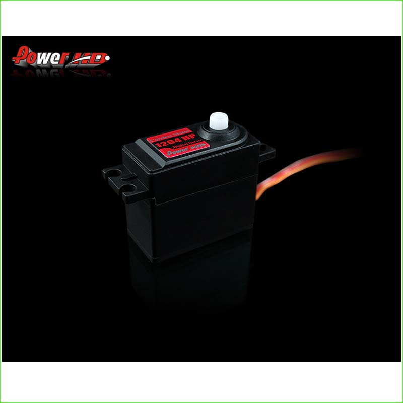 ФОТО 1pcs POWER HD-1204HP 425/550 rudder lock compatible S9254 620/650 0.06 sec (4.8V) 0.05 sec