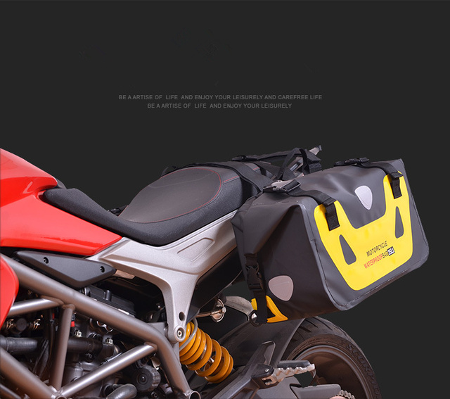 Motorcycle Waterproof Bag Tank Bags Kit Knight Rider Multi-Function Portable Bags Luggage Universal Saddle Bag for Yamaha etc