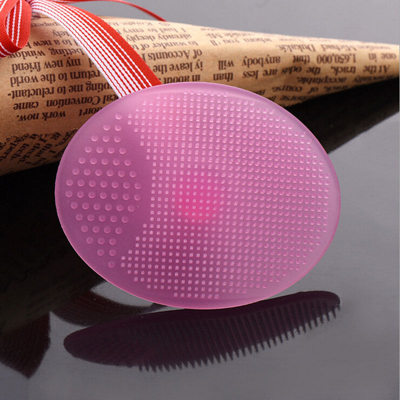 Silicone Beauty Washing Pad Facial Exfoliating Blackhead Face Cleansing Brush Tool Soft Deep Cleaning Face Brushes 4