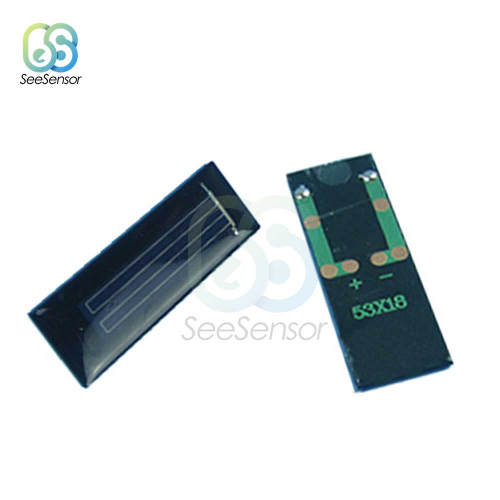 10 個ソーラーパネル 0.5V 100mA 0.05 ワットミニソーラーシステム Diy バッテリー携帯電話充電器、ポータブルソーラー携帯
