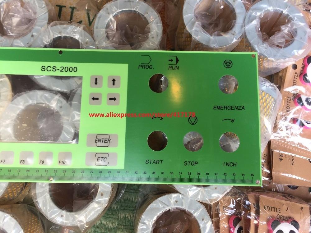 Sangiacomo Máquina Meias SCS-2000 Teclado Painel de Operação
