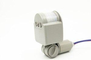 Image 5 - Yeni Hareket sensörlü ışık Anahtarı Açık AC 220 V Otomatik Kızılötesi PIR Hareket Sensörü Anahtarı led ışık