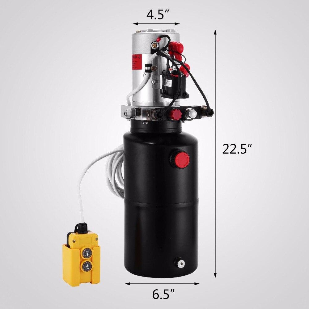 Hydraulic Pump 8 Quart Reservoir 3200psi Controller