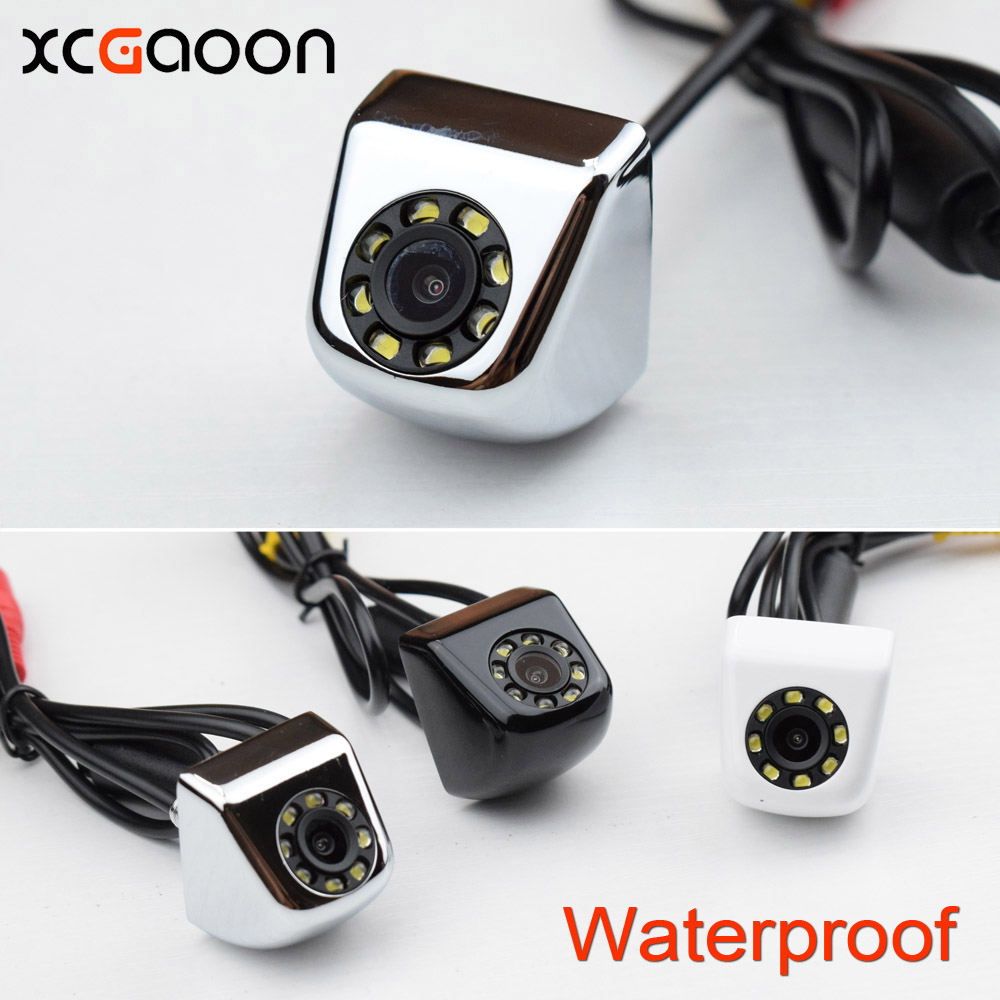 New Classic CCD HD Car Rear View Camera 140 Degree Wide Angle Real Waterproof 8 LED Night Vision Parking Reversing Assistance