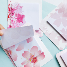 Stationery Notepad Memo-Pads Sakura Kawaii Planner Office-Supply School 30-Pages Student