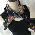 Buy 3 Get 1, Free Shipping New Spring Fold Printing Handkerchief Halter Small Scarf Fashion Wild