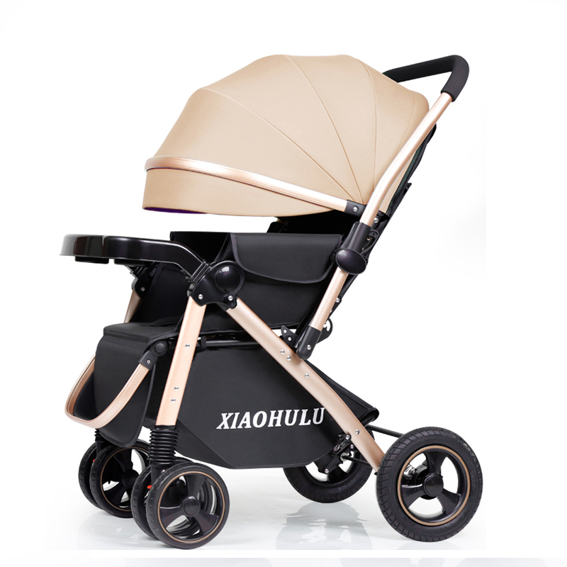 baby stroller can sit back light folding baby troller high landscape shock  baby carriagebaby stroller can sit back light folding baby troller high landscape shock  baby carriage