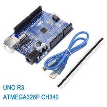 Development-Board CH340G Atmega328p Arduino Straight-Pin-Header R3 UNO for Uno-R3