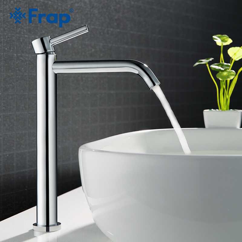 Frap high quality Basin faucet bath sink faucet Tall bathroom faucets hot and cold basin water