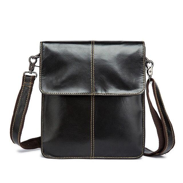 967597b128 Manufacturers selling authentic designer handbags Genuine Leather men s bag  trend wear men s Messenger bag cover shoulder