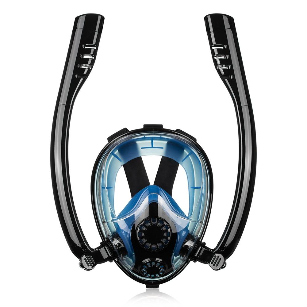 Masque de plongée étanche à sec Silicone Snokel outil de plongée en apnée
