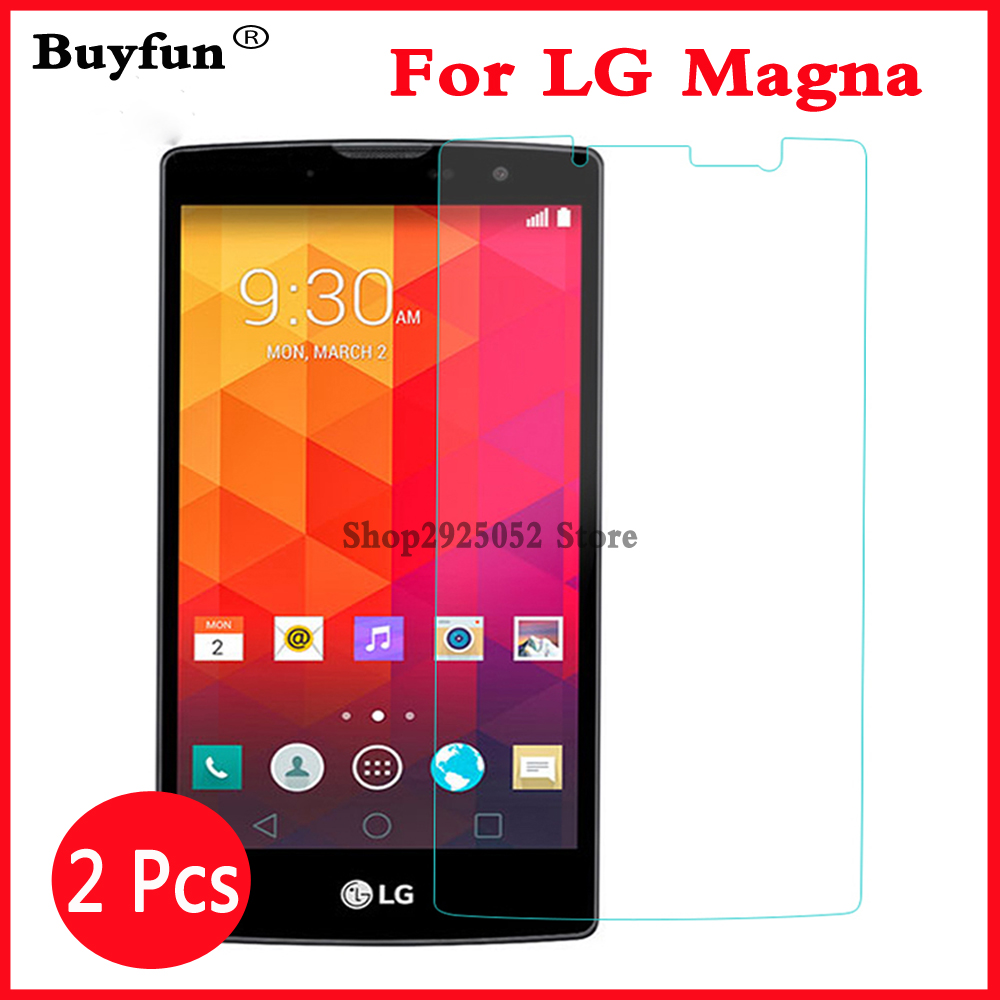 2pcs Premium Tempered Glass For LG G4C G4mini G 4C LG Magna Screen Protector Film For LG Magna H502 H525N H520N H522Y H500F