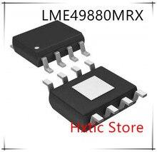 NEW 10PCS/LOT LME49880MRX LME49880MR LME49880 49880 L49880 L49880MR HSOP-8 IC