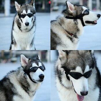9f477d9a06 Venta caliente gafas de sol para perros, gafas de sol para perros, Anti-UV,  gafas de sol a prueba de viento, accesorios de aseo para perros medianos y  ...