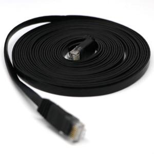 Image 3 - Câble HDMI HDMI CAT6 Ethernet réseau LAN câble plat UTP Patch routeur intéressant Lot 15M extension 0508