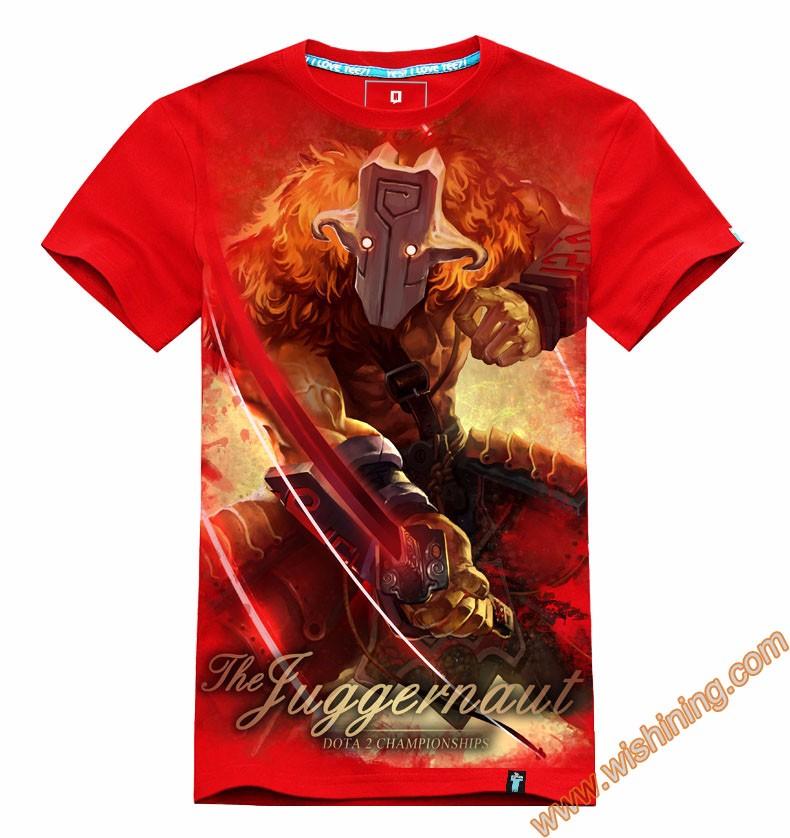 DOTA 2 Juggernaut t-shirt Tee8302 (1)