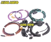 Parking Front And Rear 8K PDC OPS Harness Cable Wire KIT For VW Golf 5 6