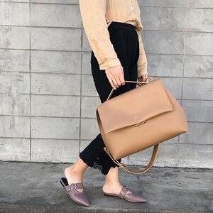 Image 3 - Causale Totes Tassen Vrouwen Grote Capaciteit Handtassen Vrouwen Pu Schouder Messenger Bag Vrouwelijke Retro Dagelijks Bakken Dame Elegante Handtassen
