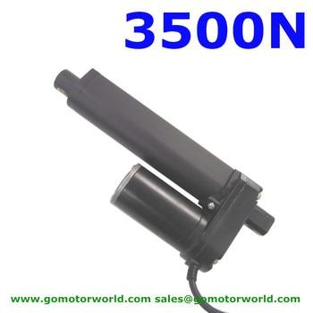 Waterproof 12V 24V 800mm adjustable stroke 3500N 770LBS load 170mm/s speed heavy duty linear actuator
