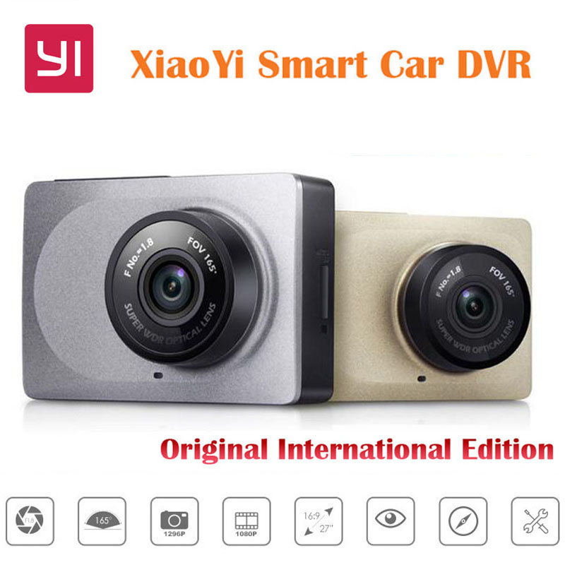 Original International Edition Xiaoyi Smart Car DVR WiFi Dash font b Camera b font 165 Degree