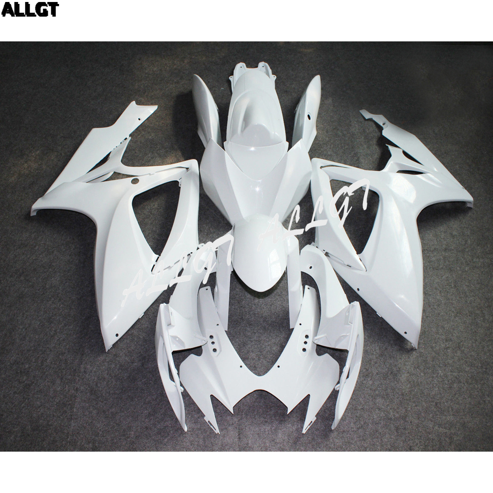 Molded ABS Unpainted New Bodywork <font><b>Fairing</b></font> Kit For Suzuki <font><b>GSXR</b></font> <font><b>600</b></font>/750 <font><b>2006</b></font> 2007 image