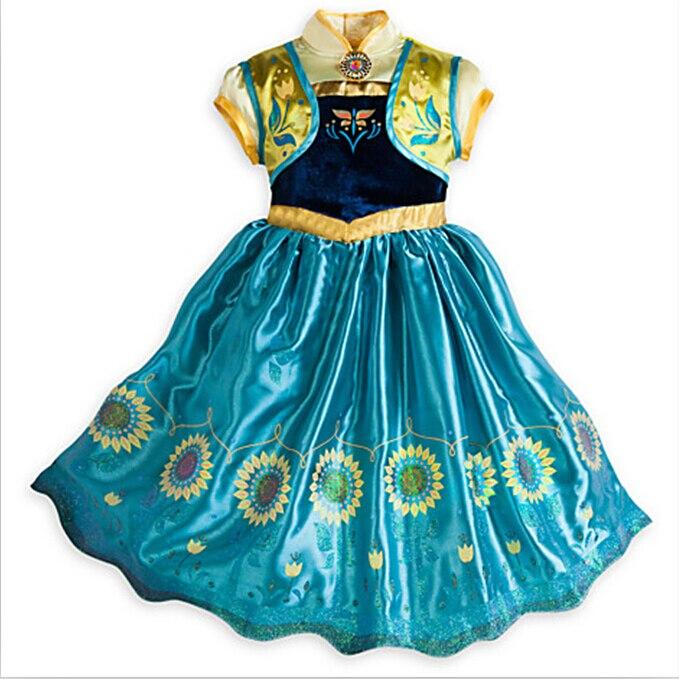 Эльза в летнем платье