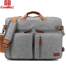 Multi-functional Backpack 17.3 Laptop Shoulder Messenger Bag Business Crossbody Bag Women men Computer case Briefcase RucksacK