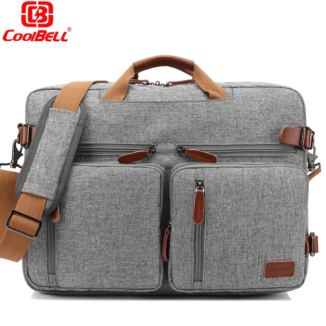 Multi Functional Backpack 17 3 Laptop Shoulder Messenger Bag Business Crossbody Women Men Computer Case