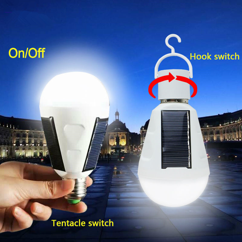 Sunlight-Solar-Light-E27-Base-Led-Bulb-With-3-Solar-Panels-Power-7W-Lamp-Solar-Lantern (4)