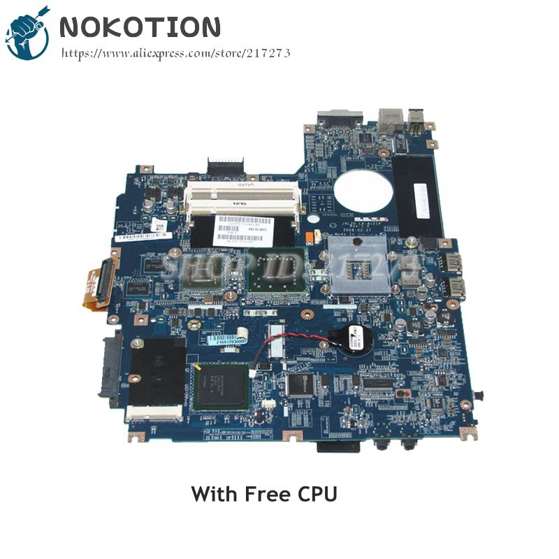 NOKOTION Laptop Motherboard For Dell Vostro 1510 V1510 MAIN BOARD J603H CN-0J603H 0J603H JAL30 LA-4121P Free CPU with GPU цена