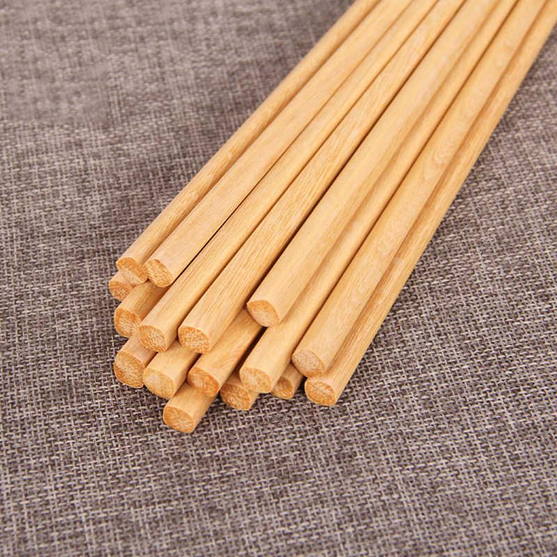 Japanische Natürliche Holz Bambus Stäbchen Gesundheit Ohne Lack Wachs Geschirr Geschirr Hashi Sushi Chinesischen