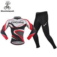 Spring Pro Team World Champion Long Sleeve White Cycling Jerseys Thin Bike Cloth MTB Ciclismo Bicycle