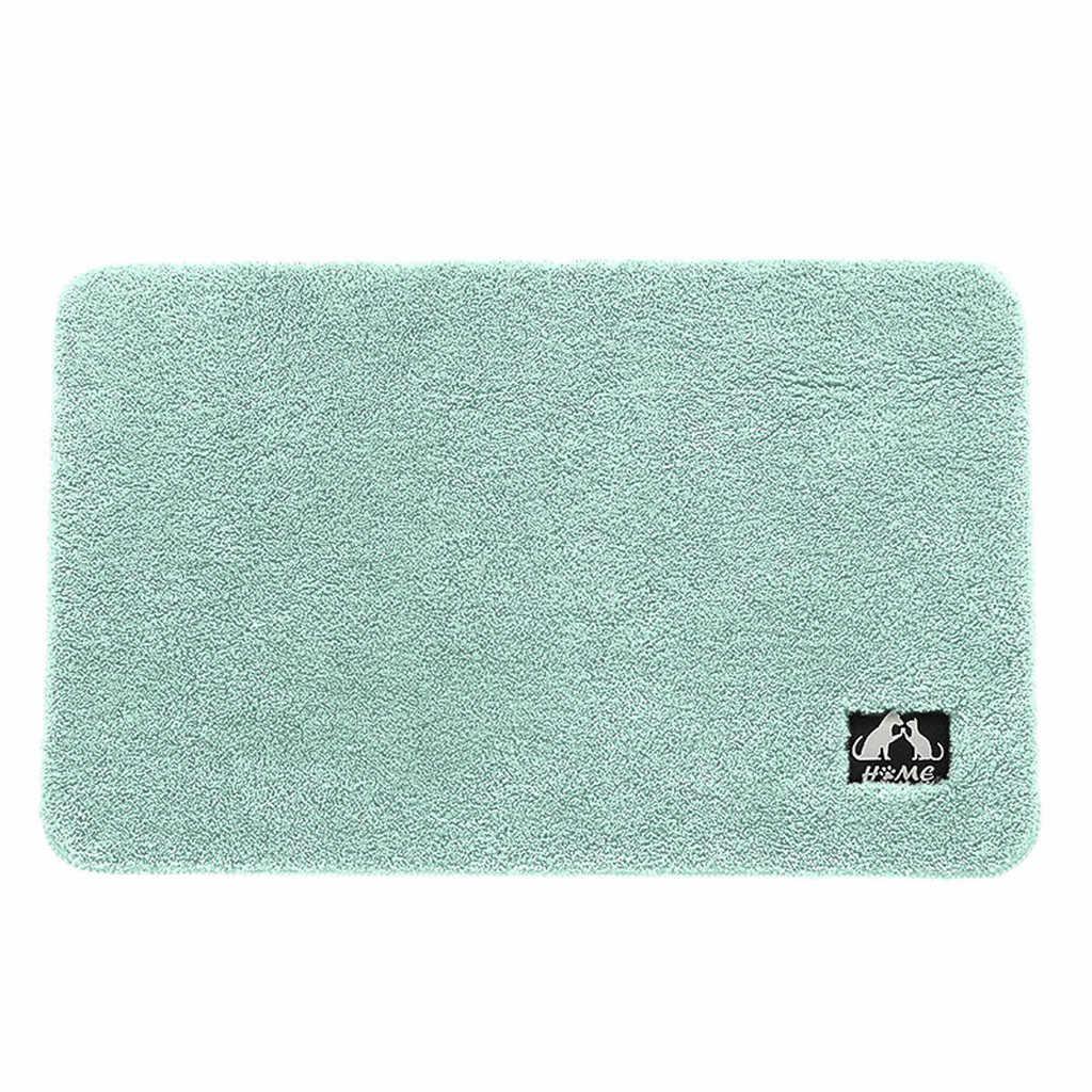 2018 Новый суперабсорбент для ванны коврик толстый нескользящий кухня ванная комната пол коврик дверной проем коврик # NE1205