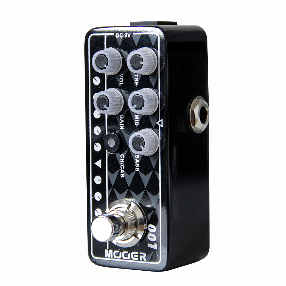 Mooer 001 Gas Station Micro Preamp Guitar Effects Pedal High-quality Dual Channel Guitar Pedal Guitar Accessories mooer micro looper mini guitar effects pedal high quality sound restoration guitar pedal guitar accessories