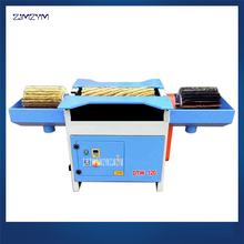 DTW-120A Woodworking Machinery Horizontal Three Axis Manual Brush Polishing Machine,Brush roller height 300/600 /300mm 380V/50Hz