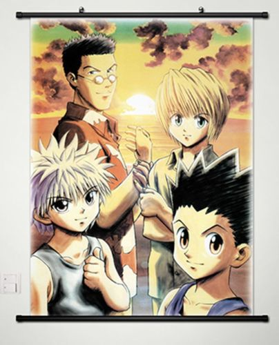 US $24 46 12% OFF Home Decor Anime Hunter x Hunter Wall Scroll Poster  Fabric Painting 020-in Painting & Calligraphy from Home & Garden on