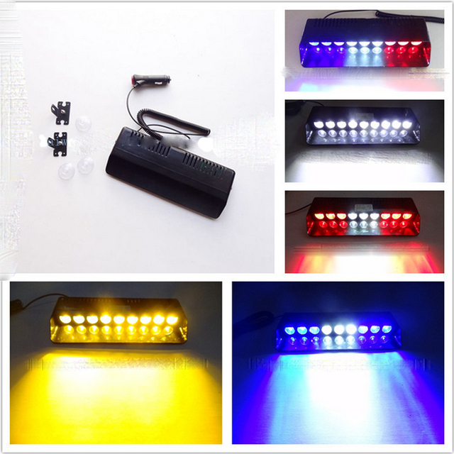 9w led windshield warning light viper car flashing strobe lightbar 9w led windshield warning light viper car flashing strobe lightbar police security lights truck beacons emergency aloadofball Image collections
