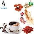 28 sachês de 3g por porção Anti fadiga e anti oxidação Goji Berry café café do cogumelo de Reishi