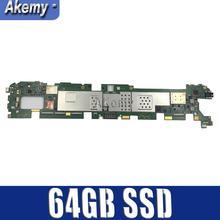 Для Asus TF810C TF810 TF81 материнской TF810C материнская плата, логическая плата Системы доска с 64 Гб SSD