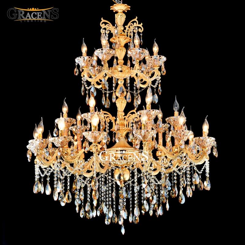 Online kaufen großhandel kristall kronleuchter gold aus china ...