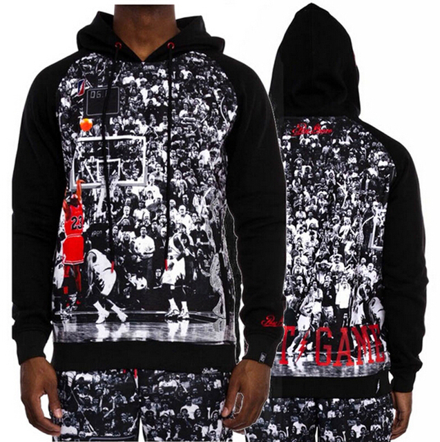 b27e4c216e51 2018 New men women 3D pullover hoodies painting Star Jordan The Last Shot  sweatshirt casual sweatshirts free shipping