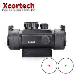ยุทธวิธี Holographic 1x30 Red Green Dot Sight Airsoft Dot Sight ขอบเขต 11mm 20mm Rail Mount Collimator sight สำหรับการล่าสัตว์