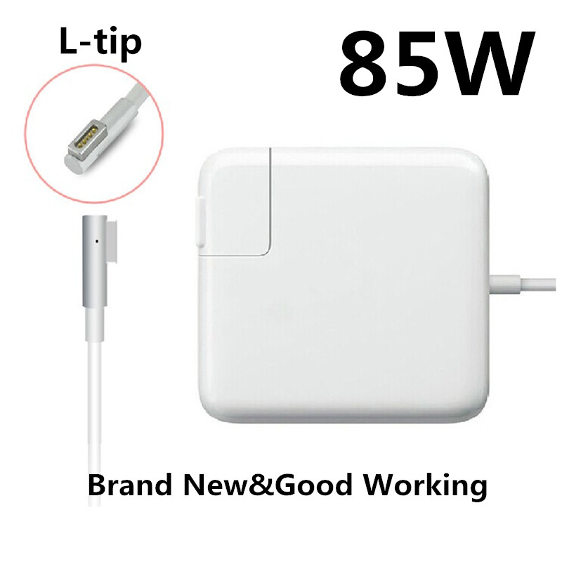 Replacement Magnetic L-tip 85W MagSaf* Laptop Power Adapter Chargers For Apple MacBook Pro 15'' 17'' A1222 A1260 A1286 A1343