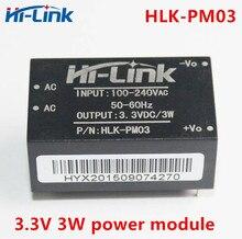 Frete grátis 5 pçs ac dc 220 v para 3.3 v 3 w mini módulo de alimentação módulo interruptor doméstico inteligente módulo potência HLK PM03