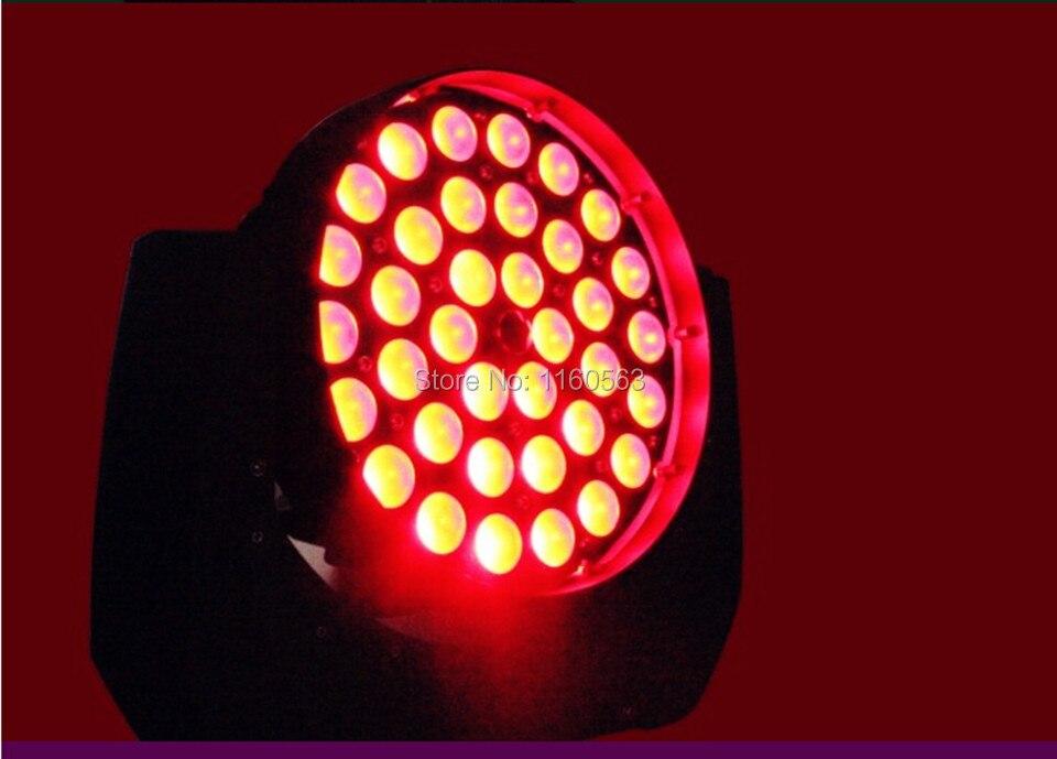 Led della lavata di apparecchio RGBWA 5in1 led fascio zoom testa mobile luce della fase Dinamica Cerchio Sezione di controllo dmx 36x15 w zoom led della luce della lavata
